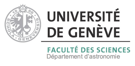 Geneva Astronomy Department Logo